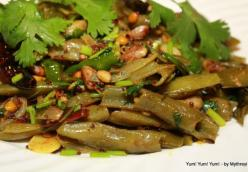 Indian Broad Beans Stir-Fry