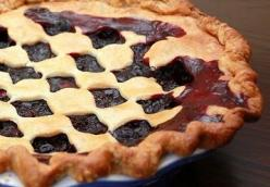Blackberry-Blueberry Pie