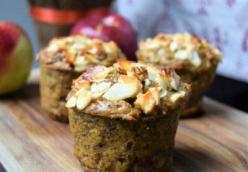 Sweet Potato Muffins with Poppy Seeds