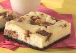 Snickers Cheesecake Squares
