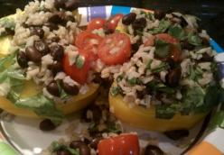 Flavorful & Colorful Stuffed Peppers