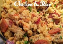 Instant Pot Cajun Chicken & Rice