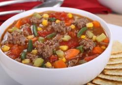 Sumner/Butler Family Hamburger Vegetable Soup submitted by Rod Butler