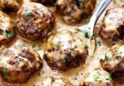 Bouncy Swedish Meatballs