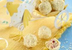 White Chocolate Apricot-Hazelnut Truffles