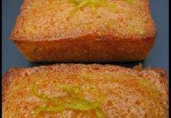 Mini Lime-Syrup Sponges