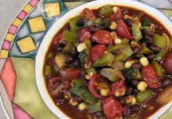 Quick & Easy, Skillet Black Bean Garden Chili