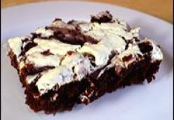 Cheesecake Brownies - low suger