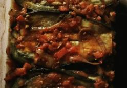 Turkish Eggplant Casserole with Tomatoes (Imam Bayildi)