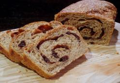 Multi-Grain Cinnamon Raisin No-Knead Bread
