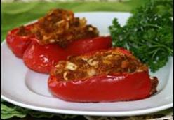 Hot 'n Beefy Stuffed Pepper