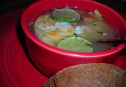 Lime And Chicken Soup
