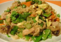 Lighter Pork Fried Rice