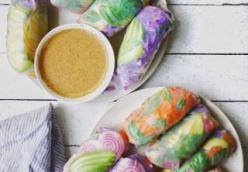 Colourful Fresh Summer Rolls