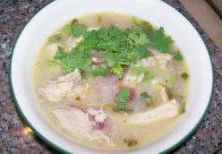 Yucatan-style Chicken Soup (sandra's Version)