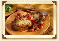 Southwestern Cheese Steak with Fresh Salsa