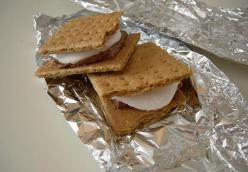 Good Gracious Grilled S'mores