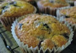 Bright Blueberry Muffins