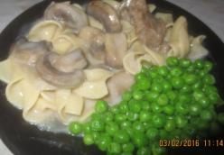 Homestyle Beef Stroganoff Michelle Losey's Style