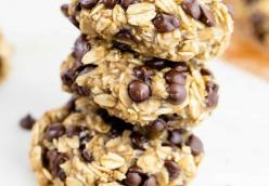 3 Ingredient Healthy Cookies