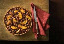Apple Pecan Tart