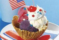 4th of July Sundae