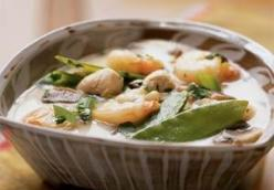 Thai Shrimp and Chicken Soup