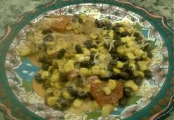 Santa Fe Chicken with Black Beans, Corn, and Sweet Peppers