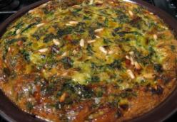 Persian Style Baked Herb Omelet