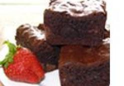 Edge Lover's Chewy Brownies