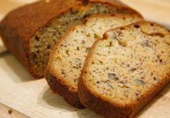 Cinnamon Spiced Banana Nut Bread (TNT)