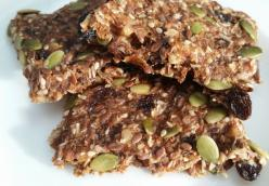 Raw Vegan Breakfast Bar