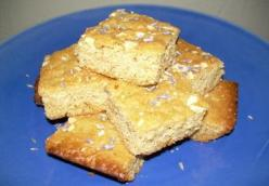 Honey Lavendar Blondies