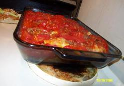 Beef , Tomatoe And Cabbage Casserole