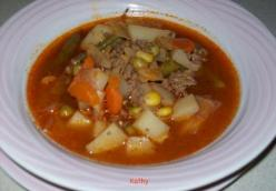 Vegetable Beef Soup