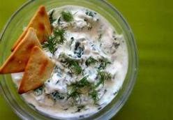 Greek Spinach Dip by Patricia Duarte