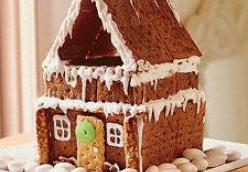 No Bake Gingerbread House