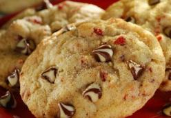Cherry-Chocolate Studded Snickerdoodles~ T-N-T