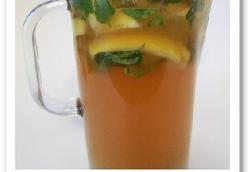Bourbon Mint Iced Tea