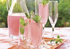 Pink Bubbly Drink