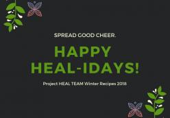 Project HEAL Team Winter Recipes