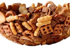 CHEX MIX PARTY BOWL