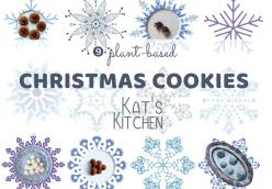 9 Plant-Based Christmas Cookies - Kat's Kitchen Stories