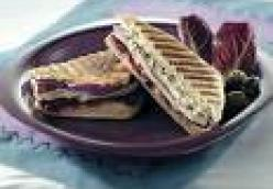 Turkey-Cranberry Panini