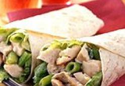 Tarragon Chicken Salad Wrap