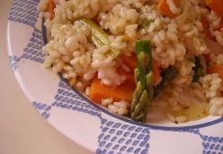 Sauteed Vegetable Risotto